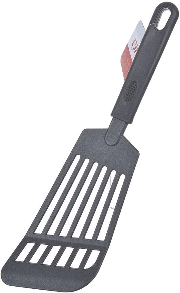 Лопатка изготовлена из пищевого пластика. Функциональная и простая в использовании, незаменимый инструмент для хозяйки.