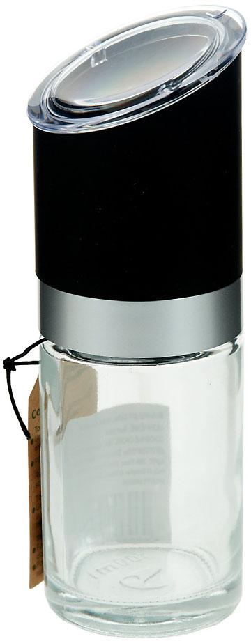 Мельница с крышкой для соли и перца изготовлена из прозрачного стекла, крышка из пластика с элементами из нержавеющей стали. Эффектный лаконичный дизайн позволит вписаться ей в любую кухню и долго радовать глаз.