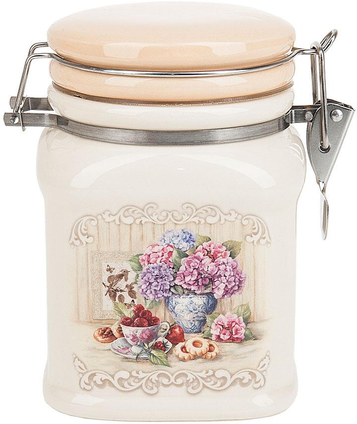 Банка для сыпучих продуктов Polystar Collection Sweet home, с зажимом-клипсой, 700 мл polystar банка для сыпучих sweet home 10х14 см