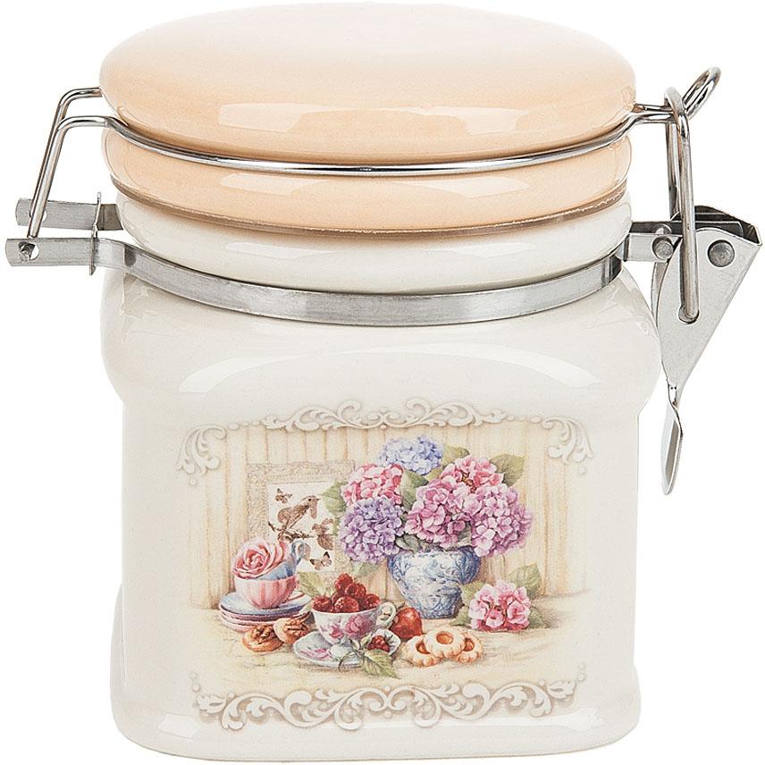Банка для сыпучих продуктов Polystar Collection Sweet home, с зажимом-клипсой, 500 мл polystar банка для сыпучих sweet home 10х14 см