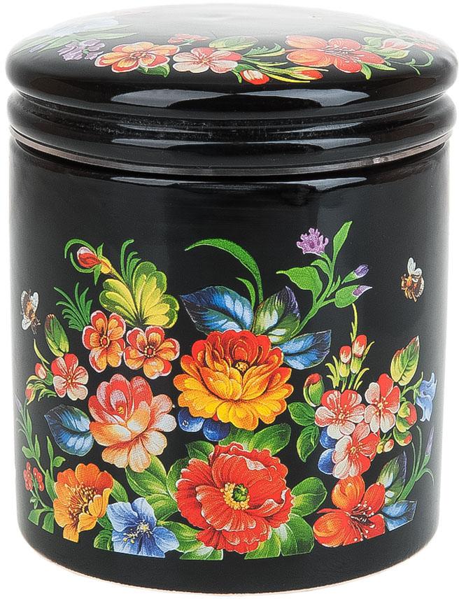 Банка для сыпучих продуктов Polystar Collection Романс, 450 мл банка для сыпучих продуктов polystar касатик 600 мл
