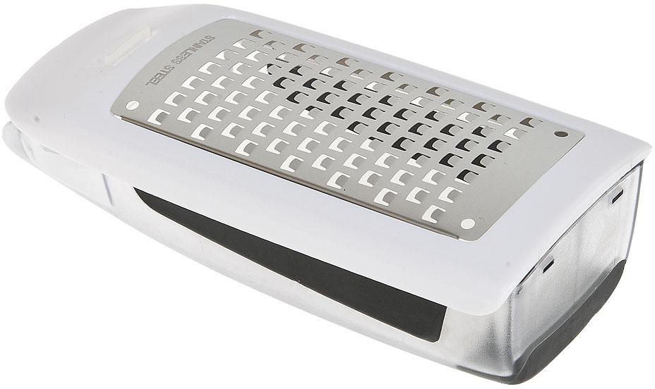 """Терка для сыра """"Best Home Kitchen"""" изготовлена из нержавеющей стали, контейнер из пластика. Удобная и простая в использовании, незаменимый инструмент в кухне любой хозяйки. Благодаря встроенному контейнеру ваша кухня всегда останется чистой и аккуратной"""