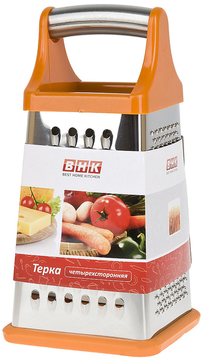 Терка Best Home Kitchen Апельсин, четырехсторонняя, 10,5 х 10,5 х 21 см салфеткка сервировочная best home kitchen сластена 43 28 см