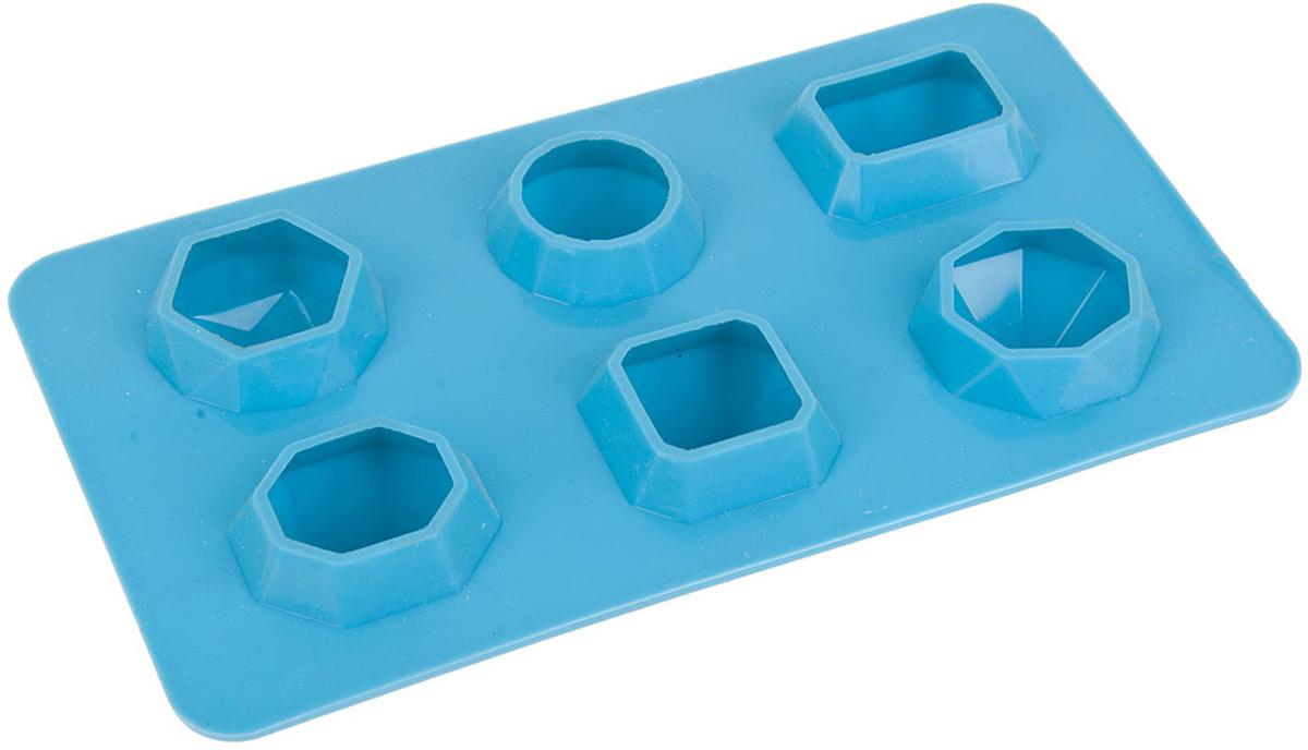 Форма для льда и шоколада изготовлена из силикона. Удобная, практичная, многофункциональная форма станет интересным решением в приготовлении новых блюд.