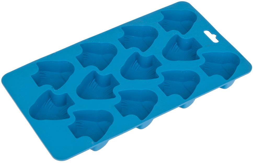 """Форма для льда и шоколада """"Рыбка"""" изготовлена из силикона.Удобная, практичная, многофункциональная форма станет интересным решением в приготовлении новых блюд."""