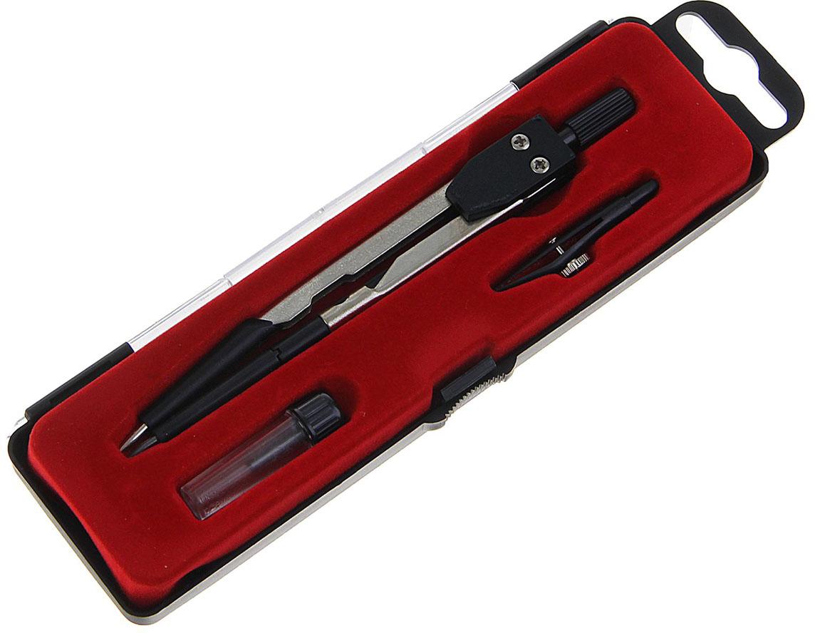 Calligrata Готовальня цвет черный красный 3 предмета 1269054