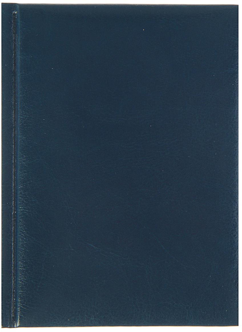 Profit Ежедневник Виладж недатированный A6 128 листов цвет темно-синий