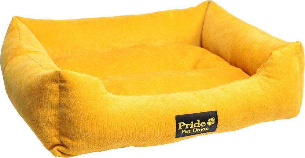 Лежак для животных Pride Палитра, цвет: золотой, 52 х 41 х 10 см. 10012440 лежак для животных pride мишка 60 х 50 х 18 см