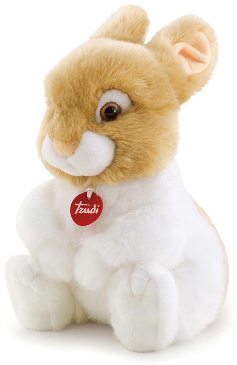 Trudi Мягкая игрушка Кролик Оливер сидячая 30 см мягкие игрушки trudi лайка маркус 34 см