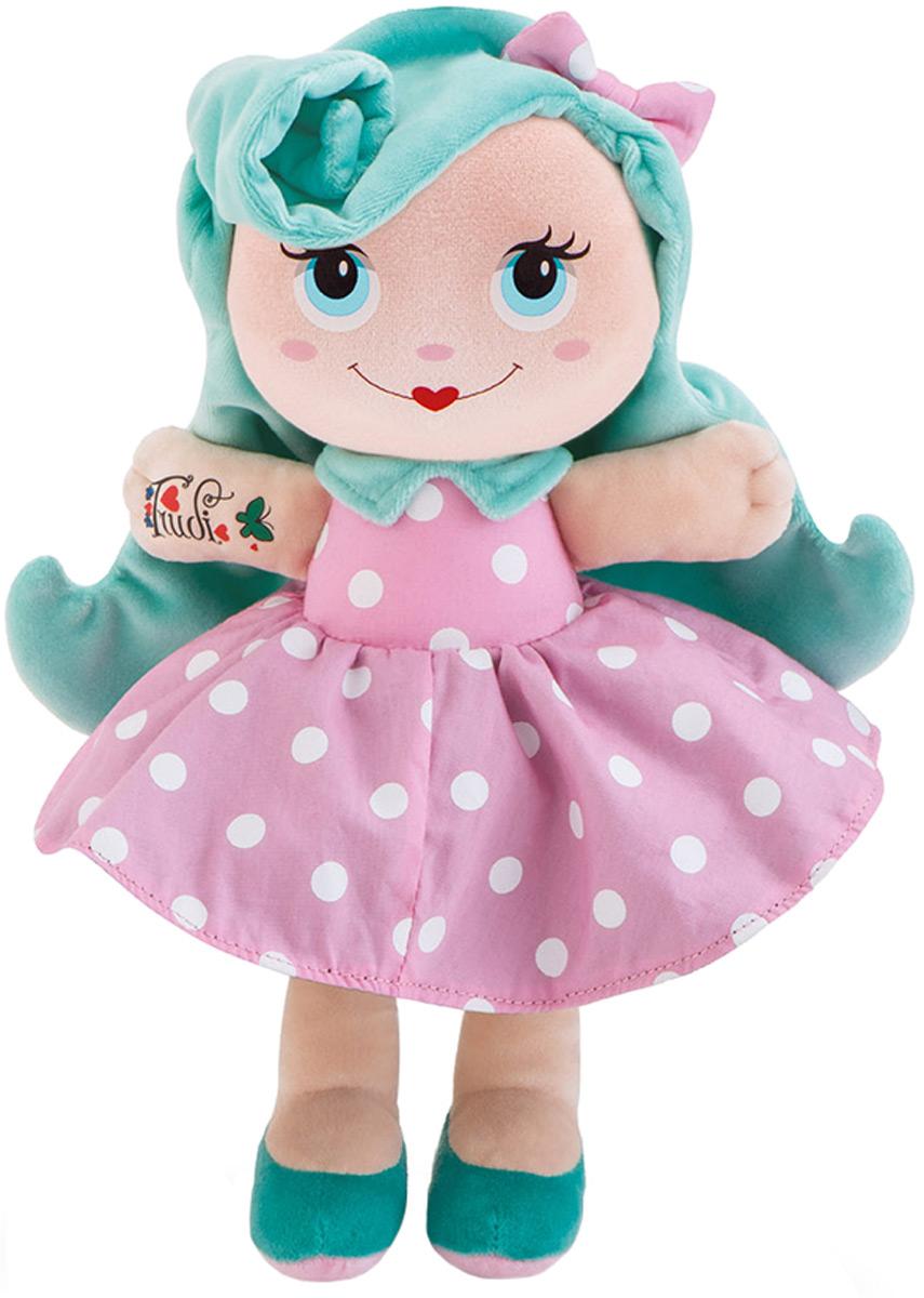 Trudi Мягкая кукла с голубыми волосами 28 см