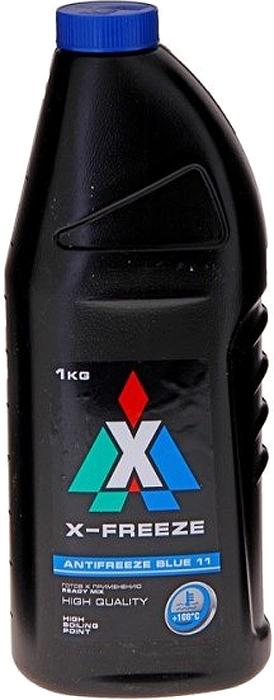 """Антифриз X-Freeze """"Blue"""", 1 л"""