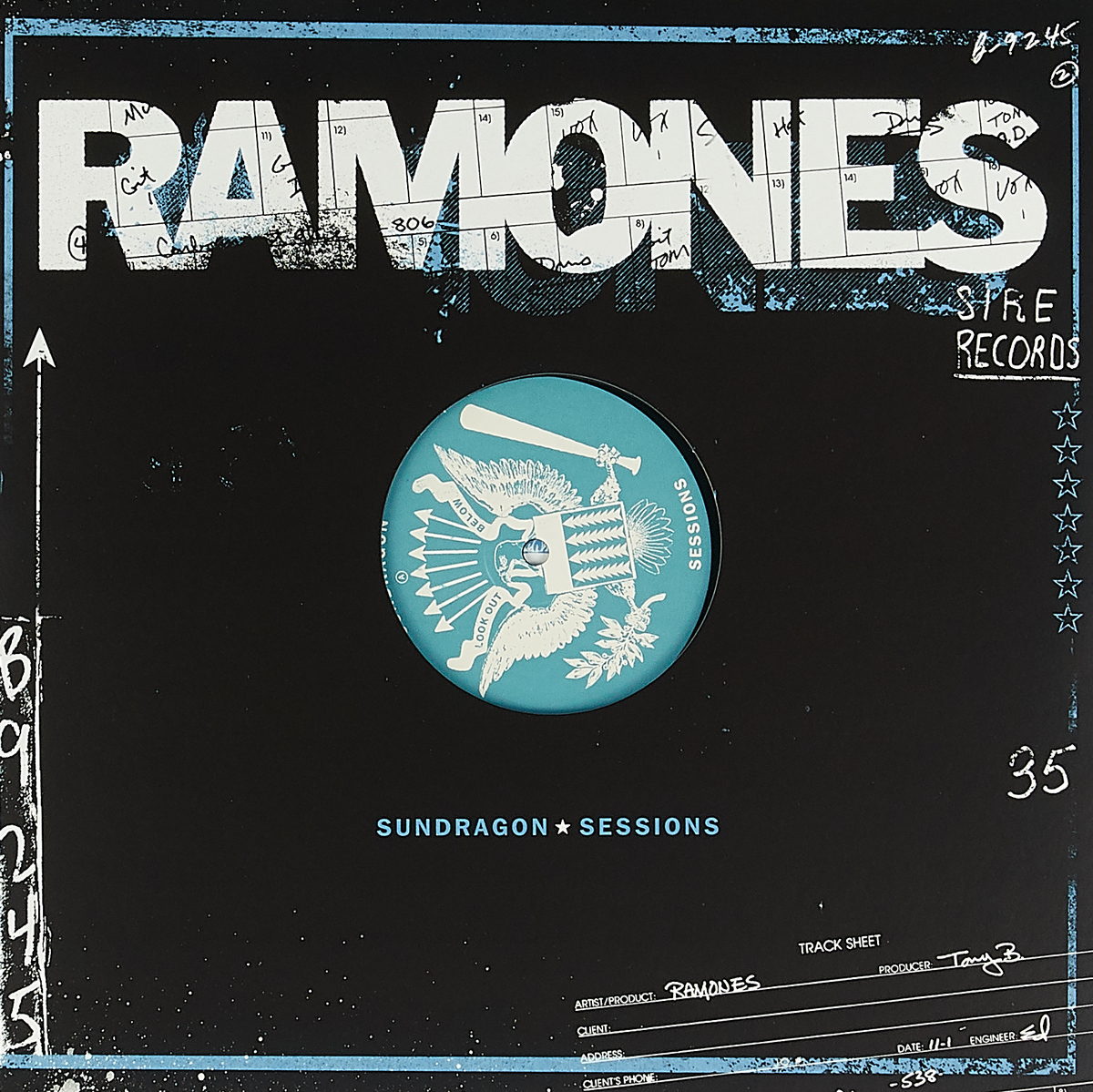The Ramones Ramones. Sundragon Sessions (LP) сумка ramones chest logo