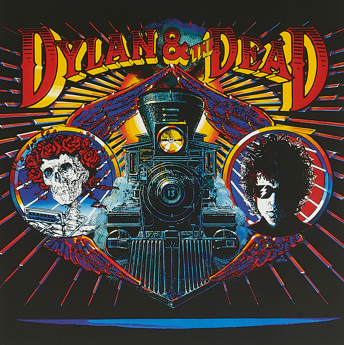 Боб Дилан Bob Dylan & The Grateful. Dylan & The Dead (LP)
