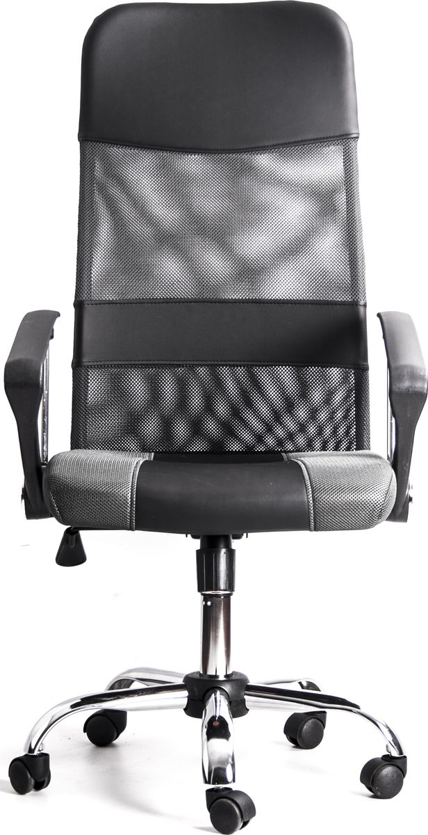 Офисное кресло Recardo Smart сочетает в себе солидный дизайн и удобство. Стильные кожаные вставки и хромированная пятилучевая крестовина выгодно выделяют Smart среди аналогичных кресел, а высокая спинка, удобные подлокотники, механизм откидывания и регулировка высоты сиденья позволяют обеспечить высокий уровень комфорта.