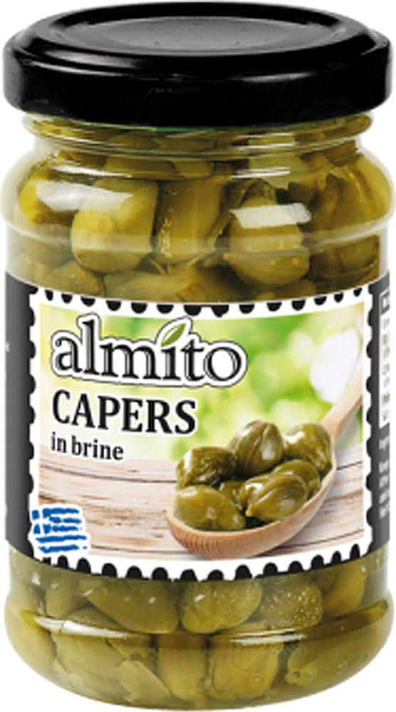 Almito Греческие каперсы, 106 мл nestos каперсы 360 г