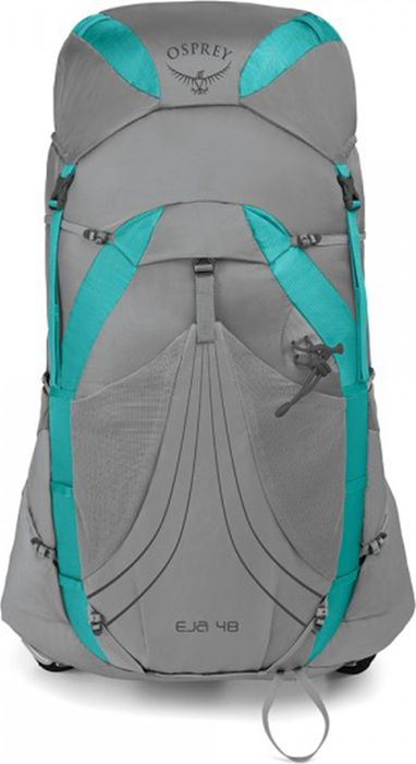 Модель Eja – это новинка в коллекции вентилируемых и легких походных рюкзаков, учитывающая особенности женской фигуры. Легкие, износостойкие материалы и оптимальный уровень комфорта и устойчивости модели Eja позволяют двигаться быстро во время многодневных путешествий.   Боковые компрессионные ремни 7 мм   Подвесная система с натянутой сеткой AirSpeed  Модель совместима с резервуарами Hydraulics и Hydraulics LT  Точки пристегивания шнуров  Модель разработана для женщин  Поясной ремень ExoForm и подвеска из сетки  Внутреннее отделение для питьевой системы  Легкий каркас  Съемные ремни для коврика  Съемное верхнее отделение с сетчатым карманом и креплением для ключей  Петля для ледоруба  Грудная стяжка с сигнальным свистком  Токи крепления треккинговых палок Stow-on-the-Go  Эластичный фронтальный карман  Эластичные боковые сетчатые карманы с затяжкой InsideOut  Доступ к верхнему клапану Основной материал: 100D High Tenacity Nylon  Максимальные размеры: 77 (длина) x 40 (ширина) x 32 (глубина) см  Вес: 1,17 кг