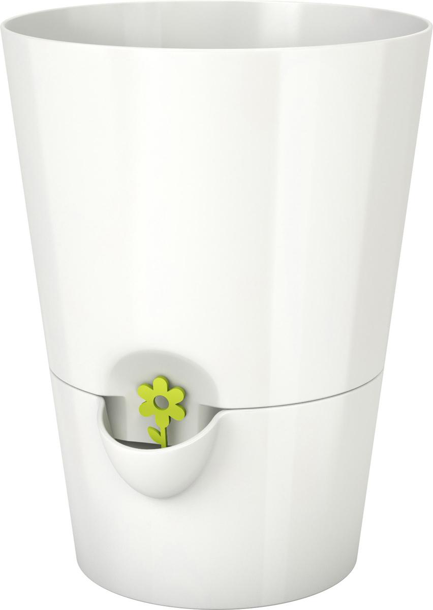 Горшок с системой автополива Emsa Fresh Herbs, цвет: белый, 13 x 17 см штатив benro а 357
