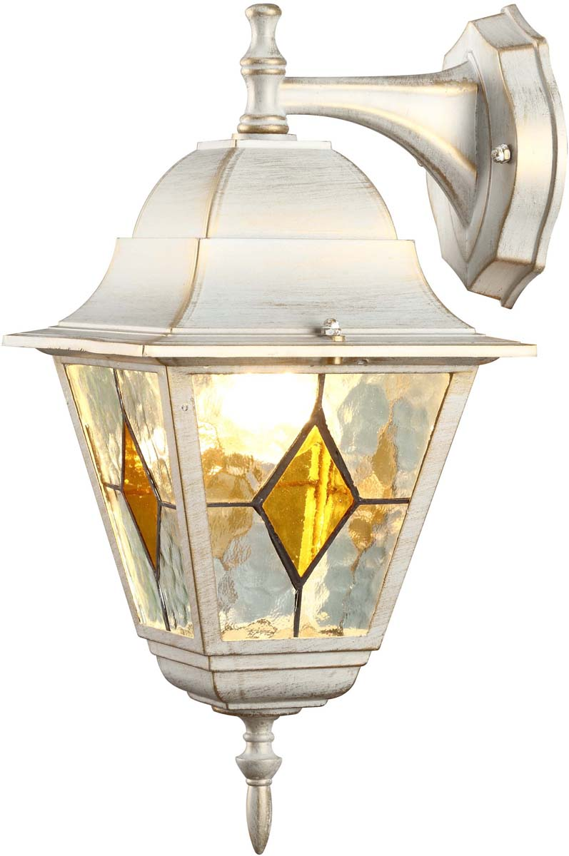 Светильник уличный Arte Lamp Berlin, 1 х E27, 75 W. A1012AL-1WG светильник уличный настенный arte lamp berlin a1012al 1bn
