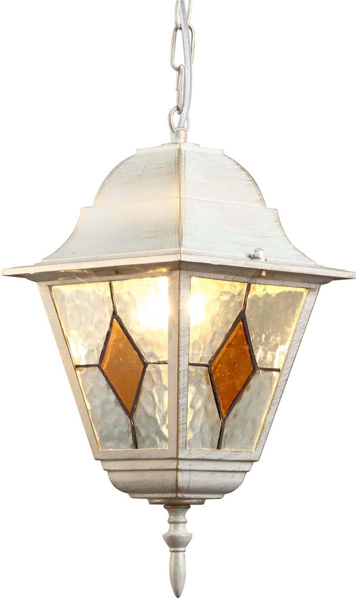 Светильник уличный Arte Lamp Berlin, 1 х E27, 75 W. A1015SO-1WG люстра потолочная st luce onde 3 х e27 60w sl116 502 03