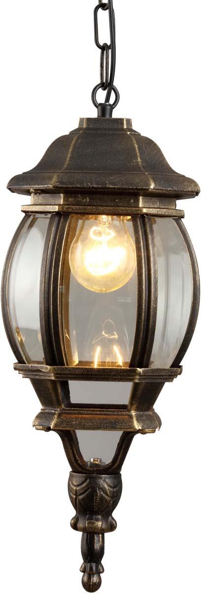 Светильник уличный Arte Lamp Atlanta, 1 х E27, 75 W. A1045SO-1BN светильник потолочный sonex blanketa gold 2 х e27 60w 102 k