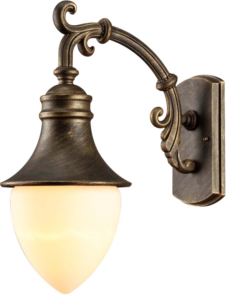 Светильник уличный Arte Lamp Vienna, 1 х E27, 75 W. A1317AL-1BN nordic wrought iron simple modern pendant lamp with led bulb dinning room light cafe lamp e27 110v 220v free shipping