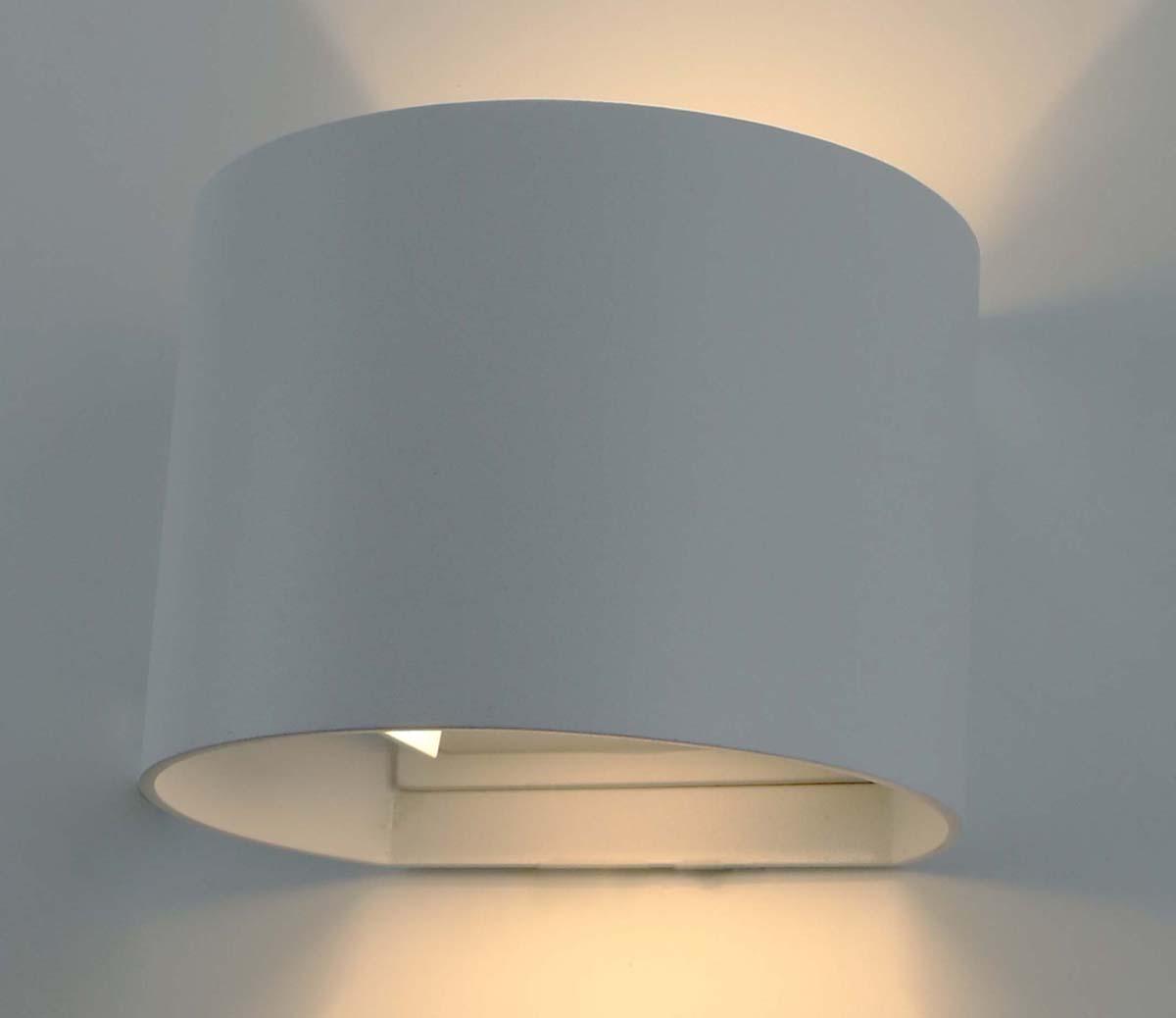 Светильник уличный Arte Lamp Rullo, цвет: белый, 1 х LED, 6 W. A1415AL-1WH