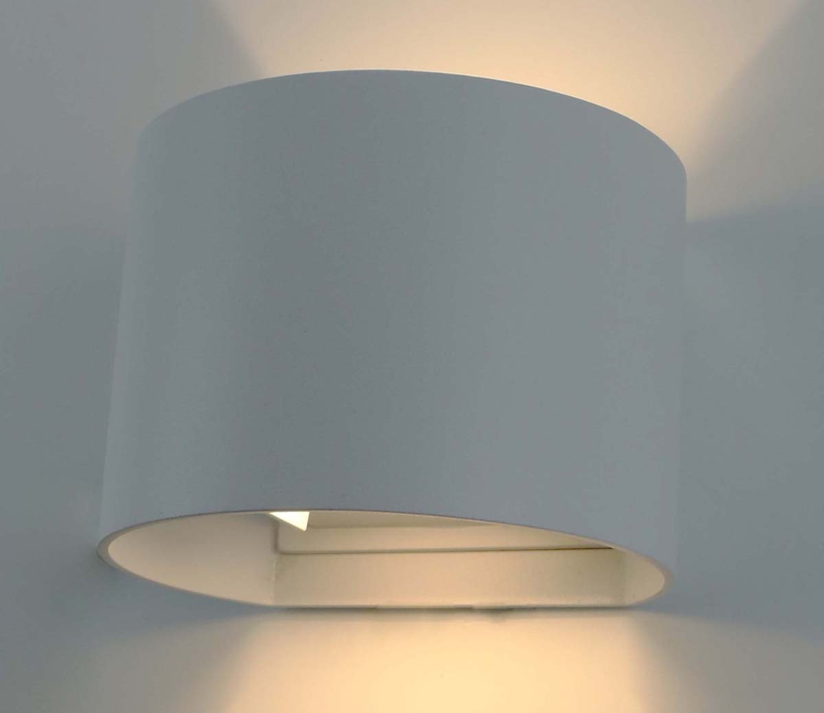 Светильник уличный Arte Lamp Rullo, цвет: белый, 1 х LED, 6 W. A1415AL-1WH with modern minimalist led hanging lamp bedside lamp button switch and creative bedroom wall lamp m