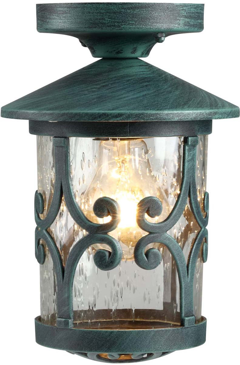 Светильник уличный Arte Lamp Persia, 1 х E27, 75 W. A1453PF-1BG