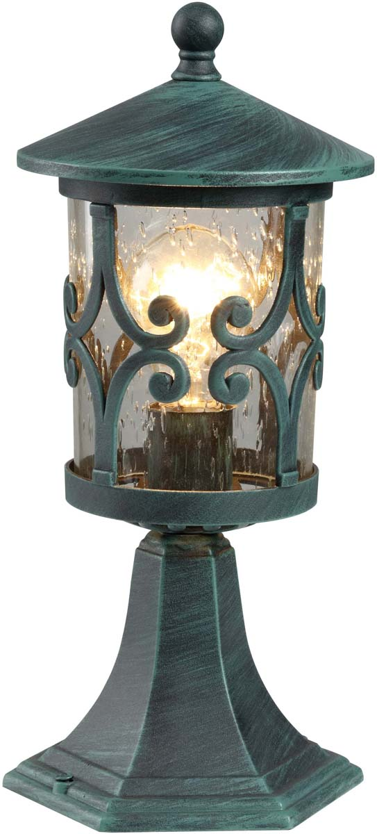 Светильник уличный Arte Lamp Persia, 1 х E27, 75 W. A1454FN-1BG наземный низкий светильник arte lamp persia a1454fn 1bg
