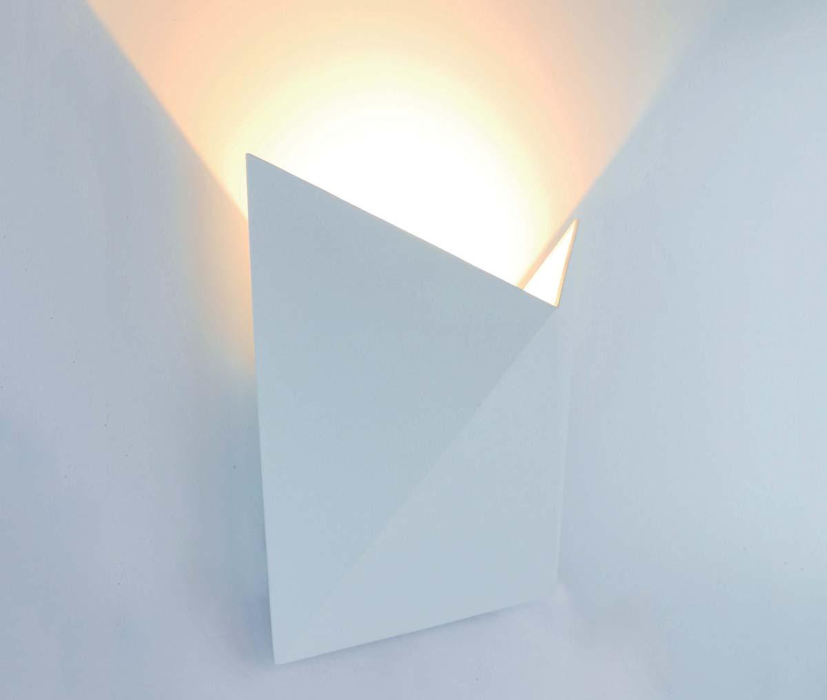 Бра Arte Lamp Busta, 1 х LED, 9 W. A1609AP-1WHA1609AP-1WH