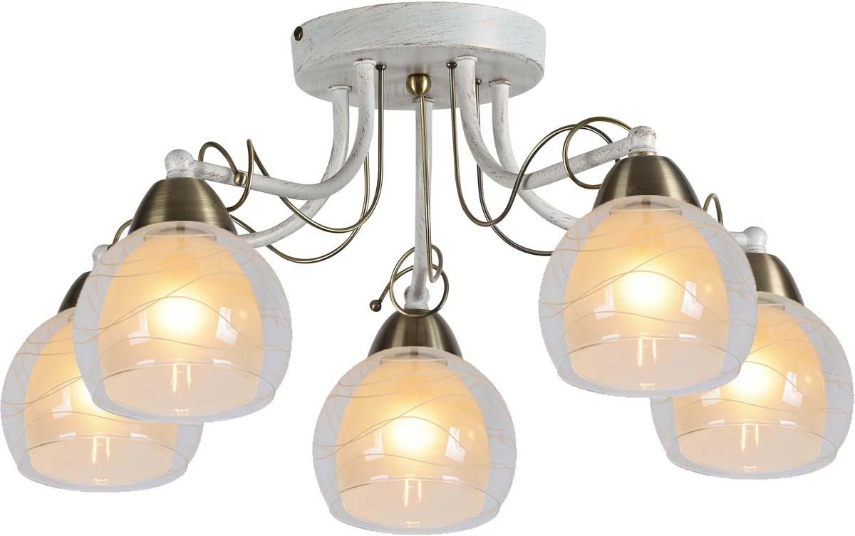 Светильник потолочный Arte Lamp Intreccio, 5 х E14, 60 W. A1633PL-5WGA1633PL-5WG