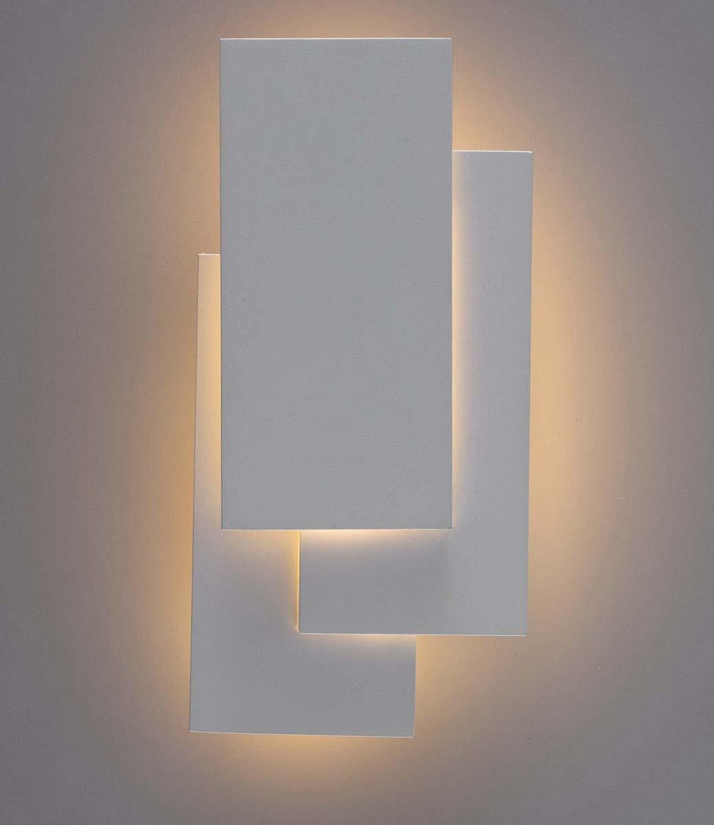 Светильник настенный Arte Lamp Trio, 1 х LED, 18 W. A1718AP-1WHA1718AP-1WH