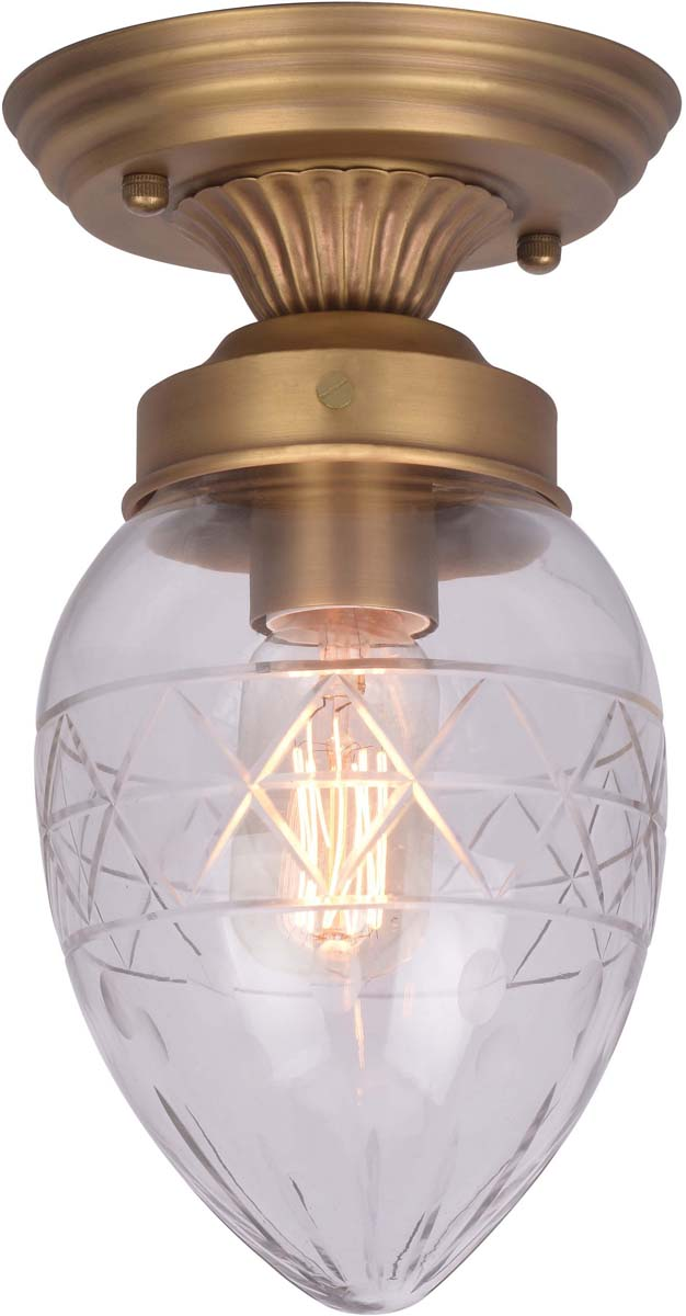 Светильник потолочный Arte Lamp Faberge, 1 х E27, 40 W. A2304PL-1SG светильник потолочный sonex blanketa gold 2 х e27 60w 102 k