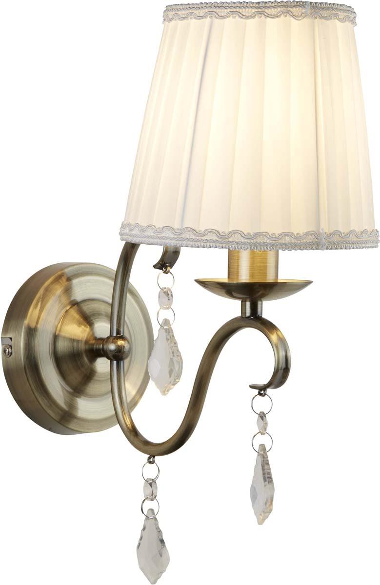 Бра Arte Lamp Innamorata, 1 х E14, 40 W. A2313AP-1AB светильник настенный arte lamp a2313ap 1ab