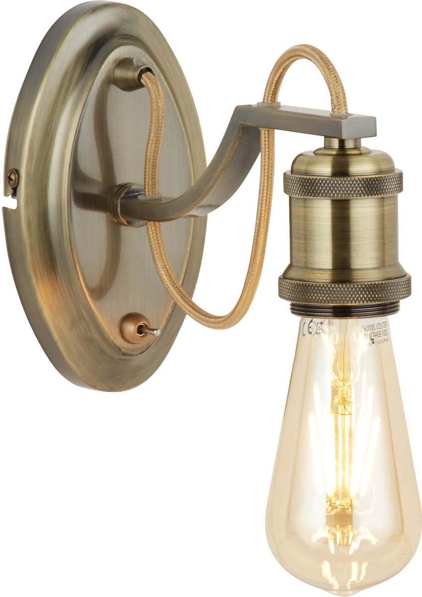 Бра Arte Lamp Inedito, 1 х E27, 60 W. A2985AP-1AB
