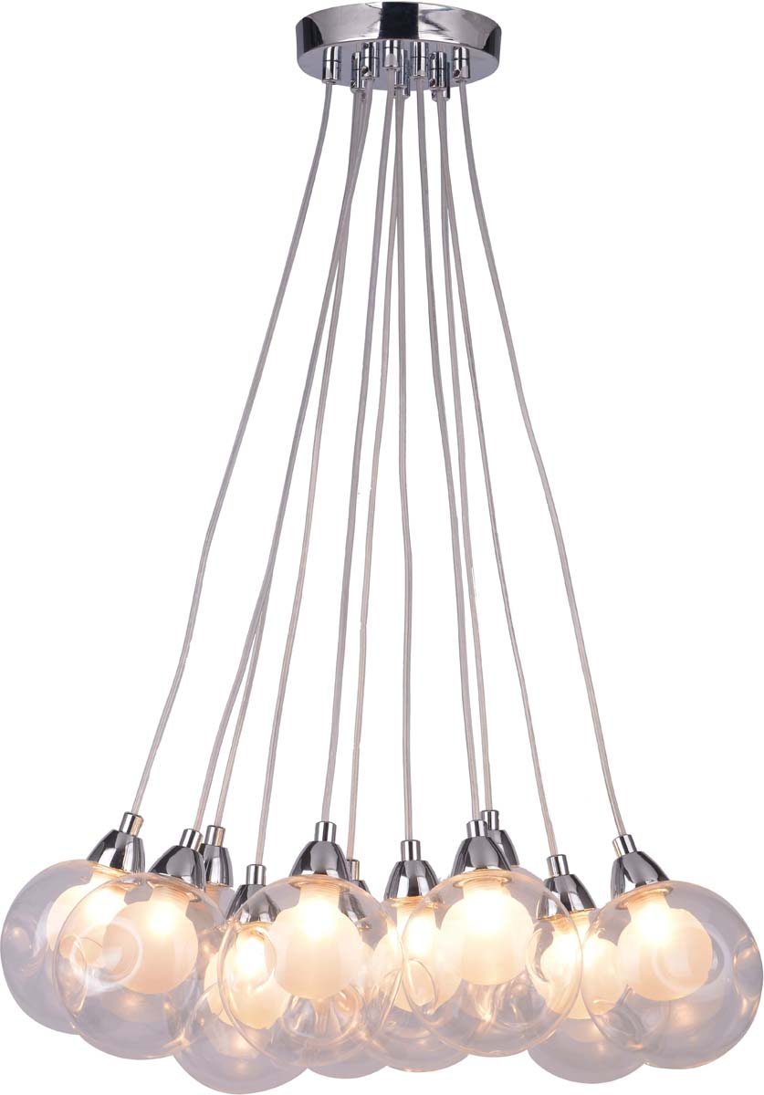 Светильник подвесной Arte Lamp Pallone, 11 х G9, 5 W. A3025SP-11CCA3025SP-11CC