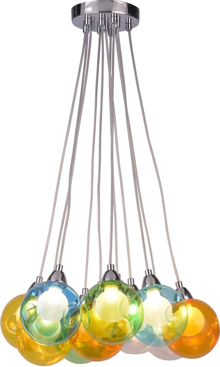 Светильник подвесной Arte Lamp Pallone, 11 х G9, 5 W. A3026SP-11CC arte lamp подвесной светильник arte lamp pallone a3026sp 9cc