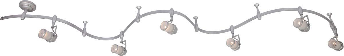 Светильник потолочный Arte Lamp Rails, цвет: серебристый, 6 х E14, 40 W. A3056PL-6SIA3056PL-6SI