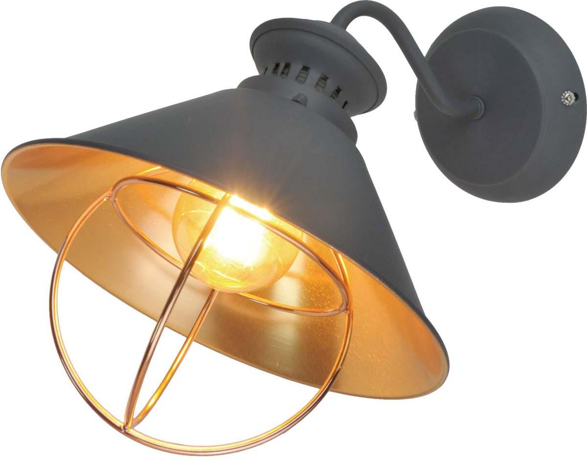 Бра Arte Lamp Warhol, 1 х E27, 60 W. A3129AP-1GYA3129AP-1GY