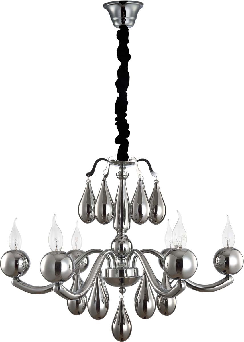 Светильник подвесной Arte Lamp Sigma, 6 х E14, 40 W. A3229LM-6CC подвесная люстра arte lamp sigma a3229lm 6cc