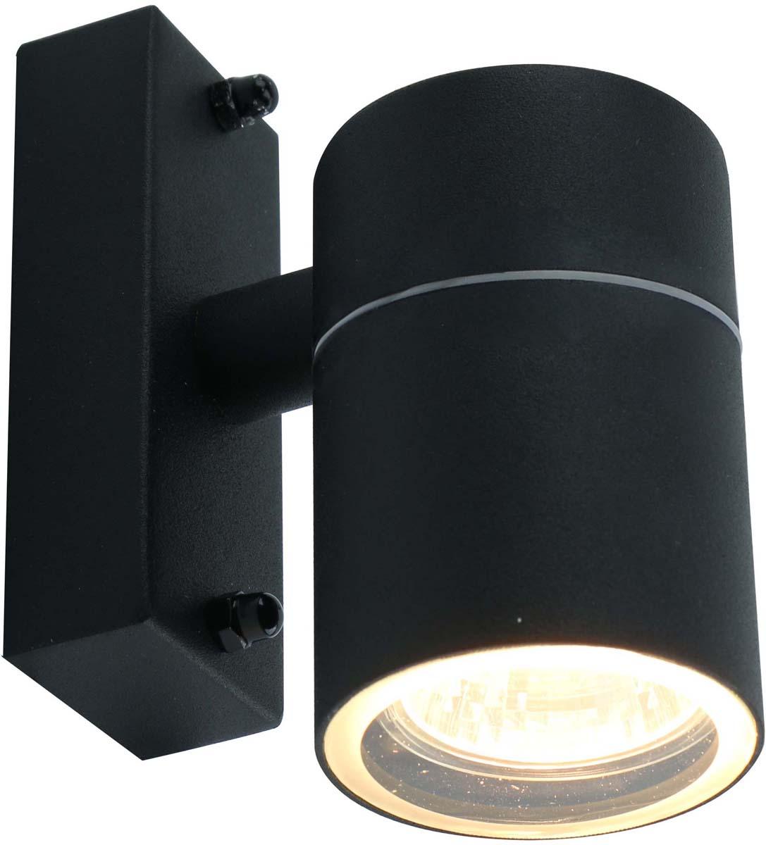 Светильник уличный Arte Lamp Mistero, цвет: черный, 1 х GU10, 50 W. A3302AL-1BK