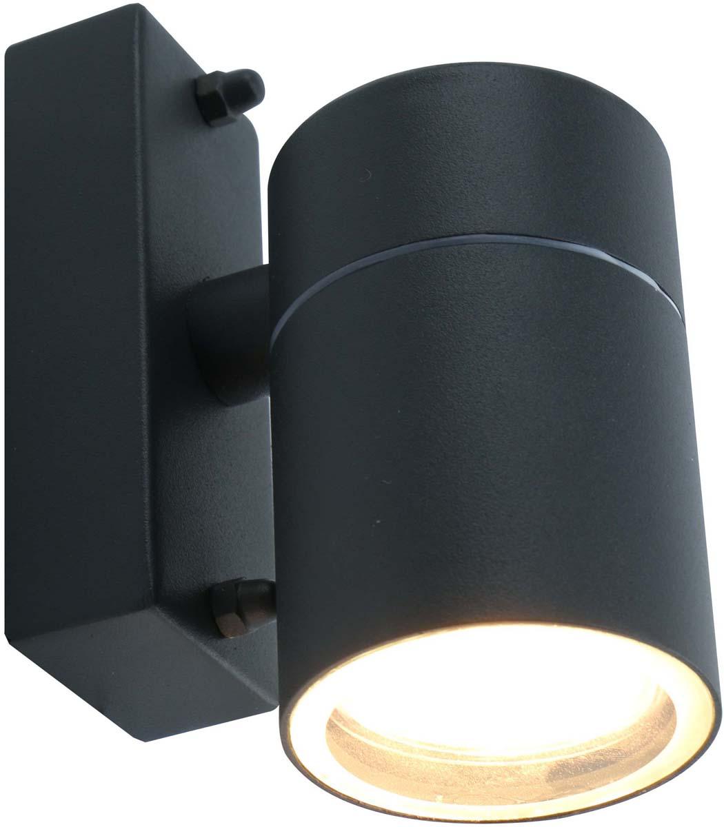 Светильник уличный Arte Lamp Mistero, цвет: серый, 1 х GU10, 50 W. A3302AL-1GY