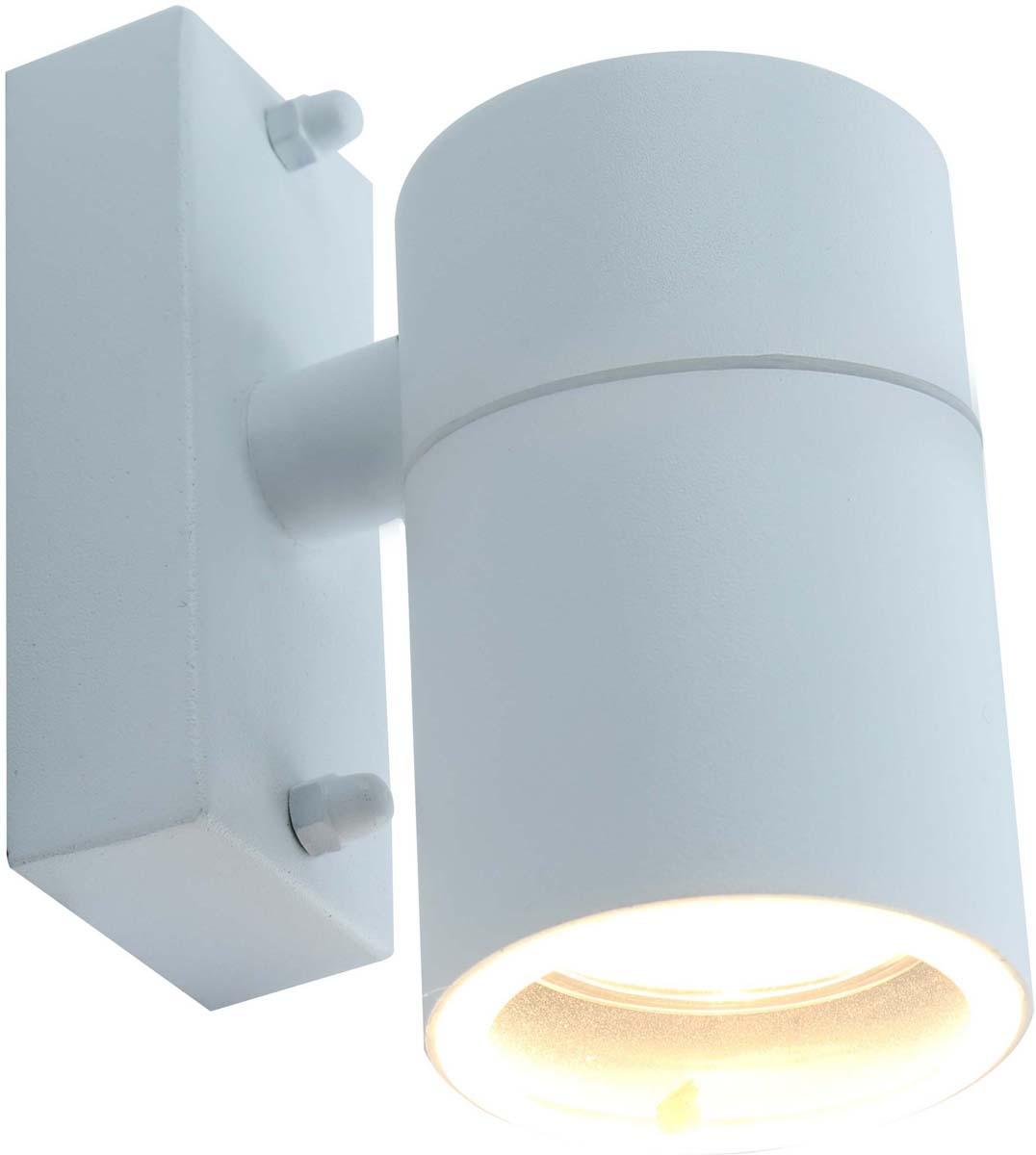 Светильник уличный Arte Lamp Mistero, цвет: белый, 1 х GU10, 50 W. A3302AL-1WH