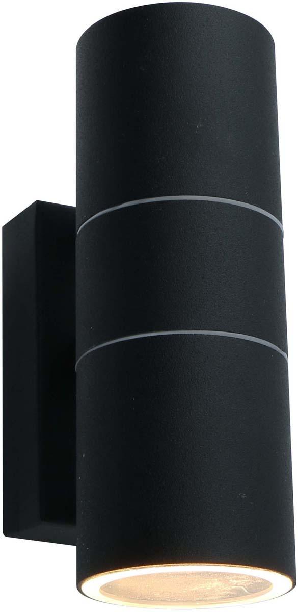 Светильник уличный Arte Lamp Mistero, цвет: черный, 2 х GU10, 50 W. A3302AL-2BK