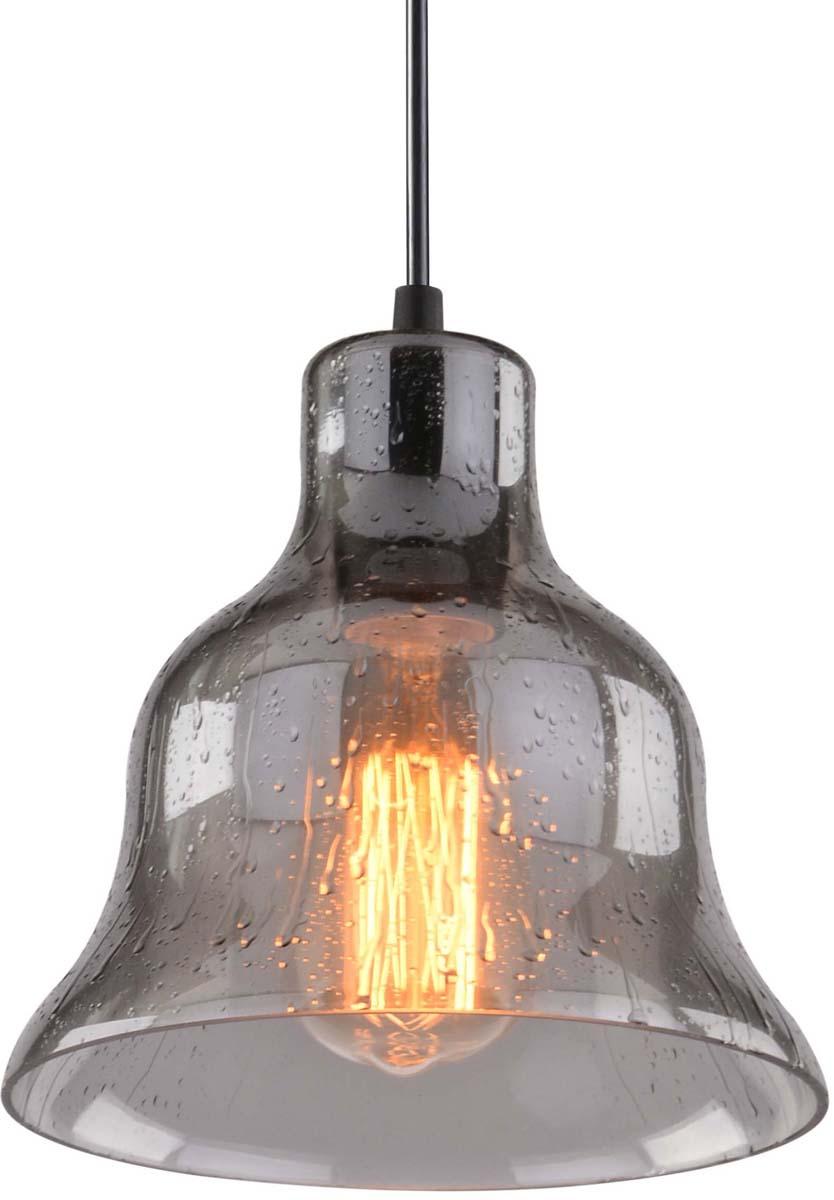 Светильник подвесной Arte Lamp Amiata, цвет: черный, серый, 1 х E27, 40 W. A4255SP-1SMA4255SP-1SM