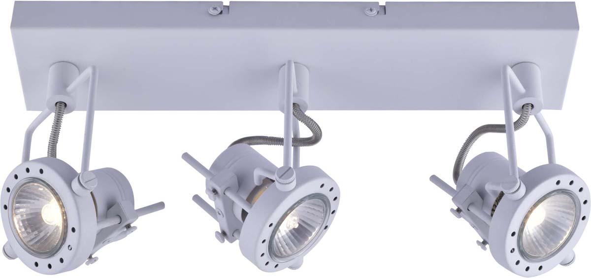 Светильник потолочный Arte Lamp Costruttore, цвет: белый, 3 х GU10, 50 W. A4300PL-3WH