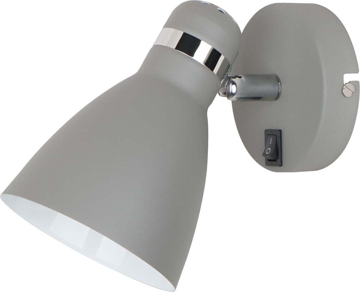 Светильник настенный Arte Lamp Mercoled, 1 х E27, 40 W. A5049AP-1GY