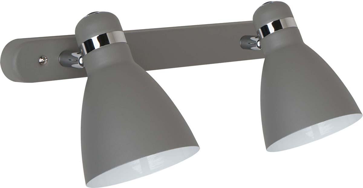 Светильник настенный Arte Lamp Mercoled, 2 х E27, 40 W. A5049AP-2GY светильник настенный arte lamp mercoled цвет белый a5049ap 2wh