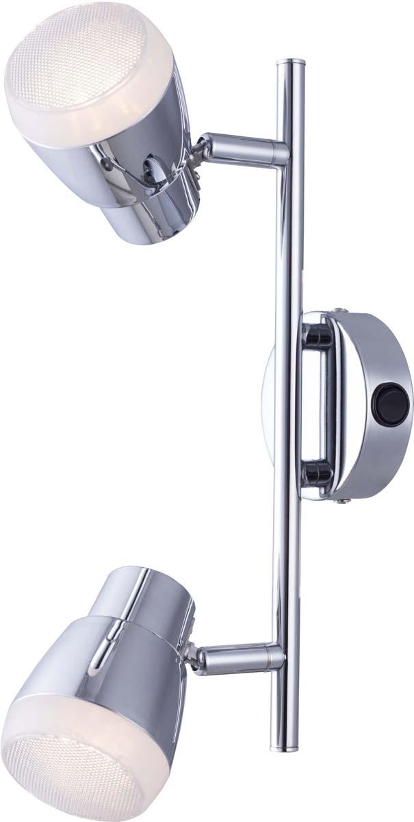 Бра Arte Lamp Cuffia, 2 х LED, 5 W. A5621AP-2CC arte бра arte aqua a9501ap 2cc umtzuis
