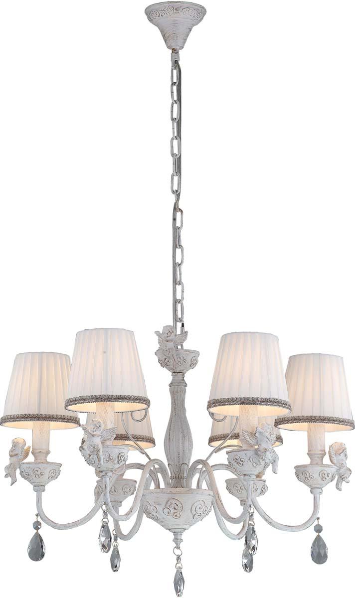 Светильник подвесной Arte Lamp Сherubino, 6 х E14, 40 W. A5656LM-6WG arte lamp a5656lm 6wg